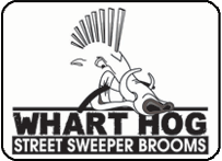 Whart Hog Street Sweeper Brooms